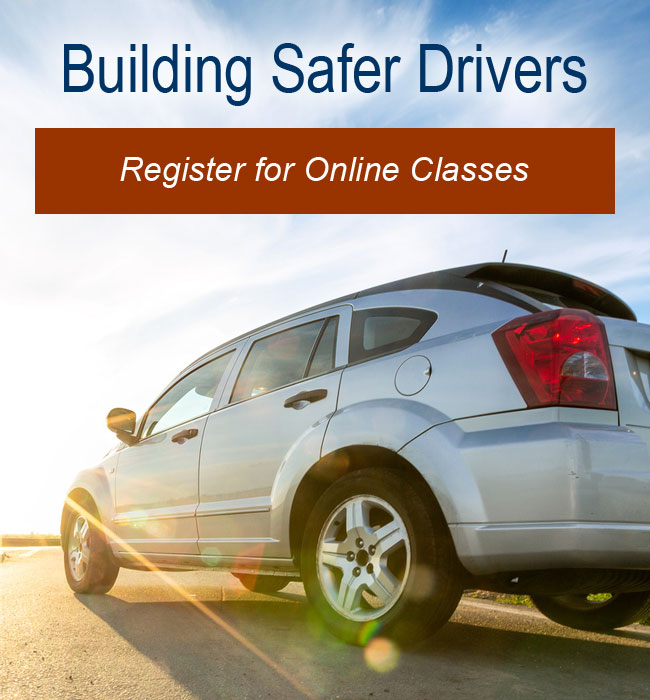 Register for Online Driver Improvement Classes